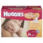 Huggies Little Snugglers Diapers – Size Newborn $11.19