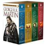 George R. R. Martin's A Game of Thrones 4-Book Boxed Set – $14.08