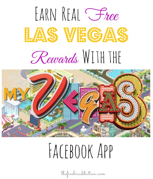 Earn REAL FREE Las Vegas Rewards with myVEGAS Facebook App!