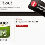 Amazon Freebie: $1 MP3 Credit from MyCokeRewards.