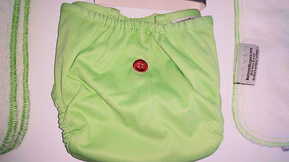 buttons cloth diaper review