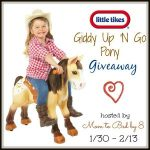 Giddy Up N Go Pony Giveaway!