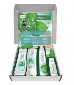 Herbal Essence Naked Hair Care Kit