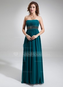 jenjenhouse chiffon floor length dress