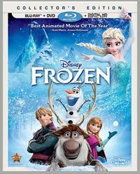 FREE Disney's FROZEN Blu-ray DVD from TopCashBack