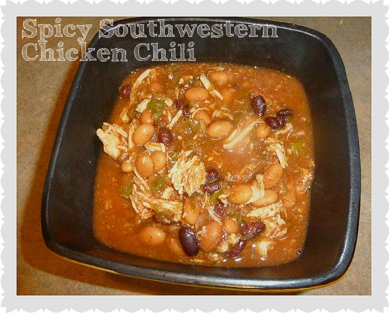 spicy southwestern chicken chili recipe