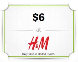 free H&M gift card