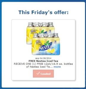FREE 12 Pack Nestea