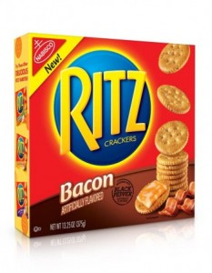 free bacon ritz crackers