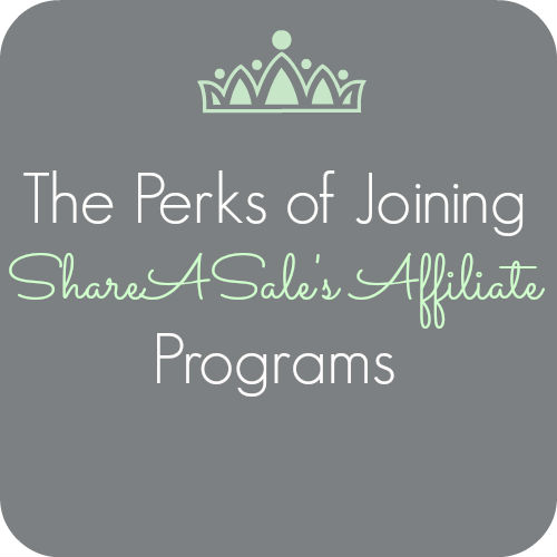 the perks of shareasale's affiliate programs