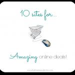 10 Sites For Amazing Online Deals!