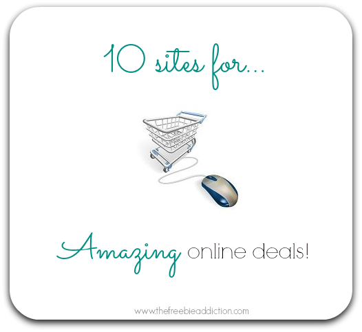 10 sites for amazing online deals