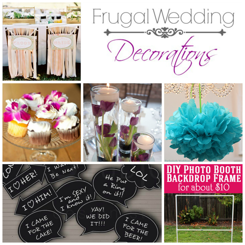 10 Frugal Wedding Decorations