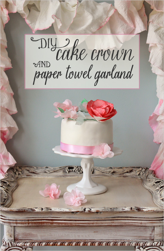diy-cake-crown-and-paper-garland