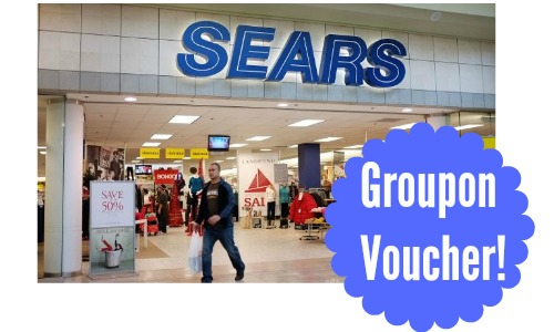sears groupon deal