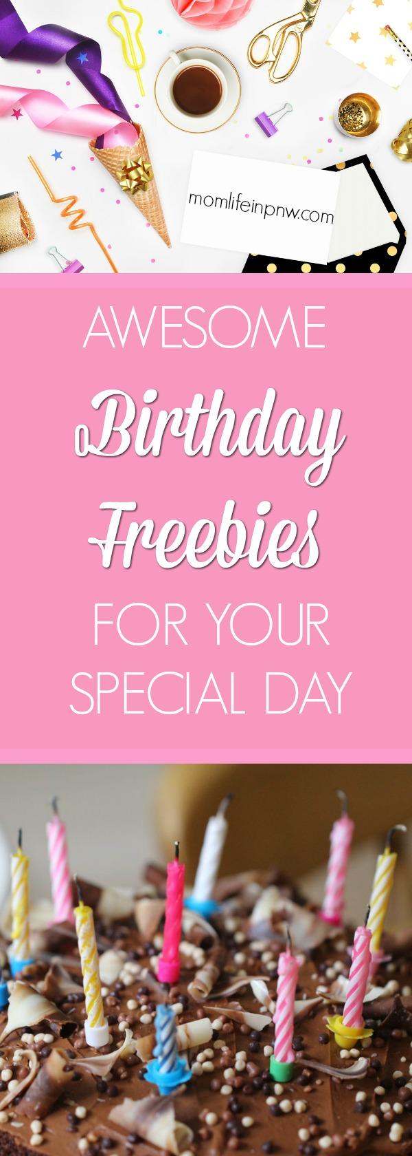 Freebies on your birthday in las vegas