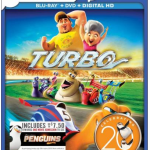 Turbo Blu ray/DVD with $7.50 in Movie Money – $9.99 at Best Buy!