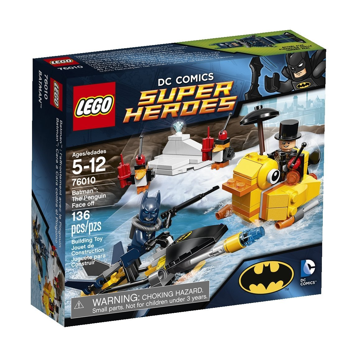 LEGO Superheroes Batman: The Penguin Face Off