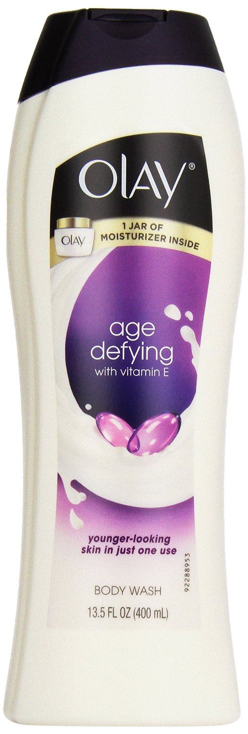 Olay Age Defying Body Wash with vitamin e