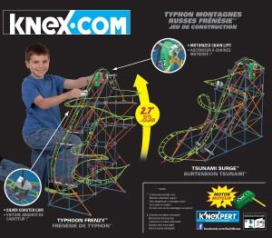 K'nex Typhoon Frenzy Roller Coaster Building Set #amazon #deals #bargainshopping