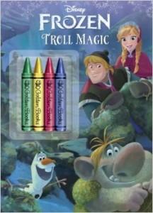 Troll Magic Frozen Coloring Book