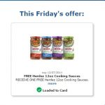 Freebie Friday at Kroger Stores: Herdez 12 oz Cooking Sauce