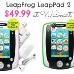 LeapFrog LeapPad2 Learning Tablet is $49.99 at Walmart