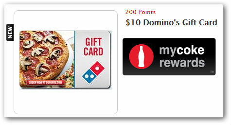 Free $10 Domino's Gift Card