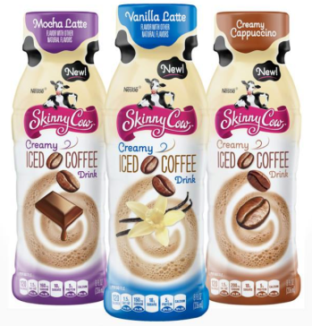 skinny cow creamy iced coffee drink