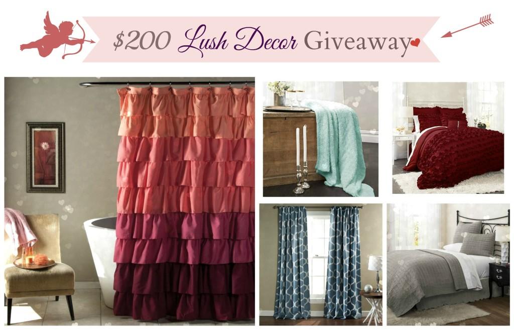 200 lush decor giveaway