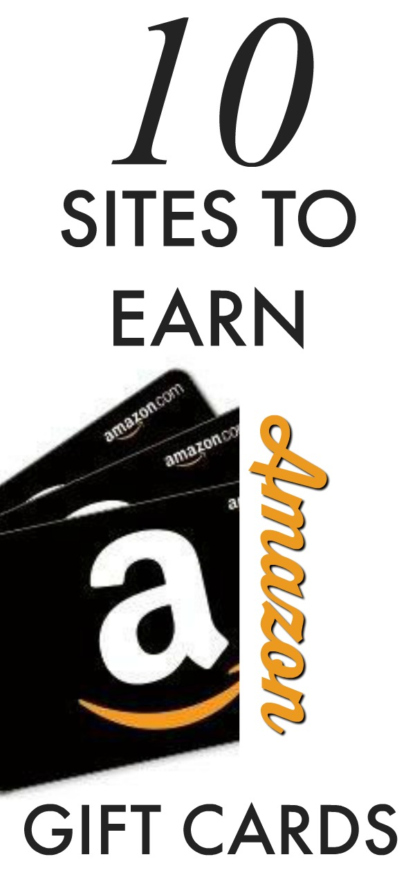 10 Sites You Can Earn Amazon Gift Cards for FREE!