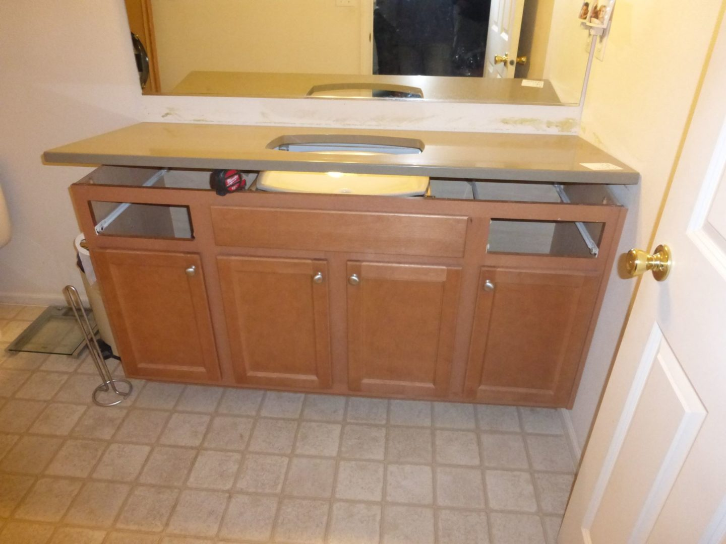 A Walk Through of Our Master Bathroom Remodel