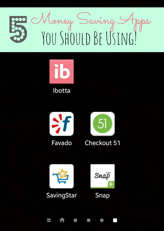 5 money saving apps you should be using