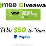 $50 Giveaway Plus a Free App That Pays You Money; You Can't Go Wrong!