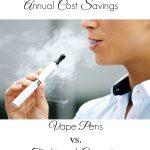 Annual Cost Savings of Vape Pens vs. Traditional Cigarettes