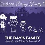 Get a FREE Custom Disney Family Decal