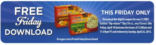 Kroger Freebie Friday