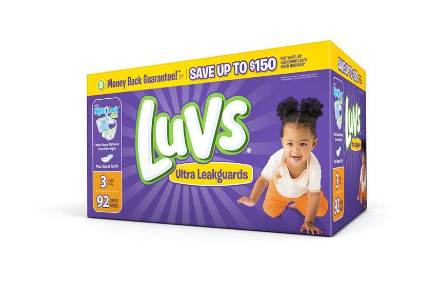 Luvs coupon