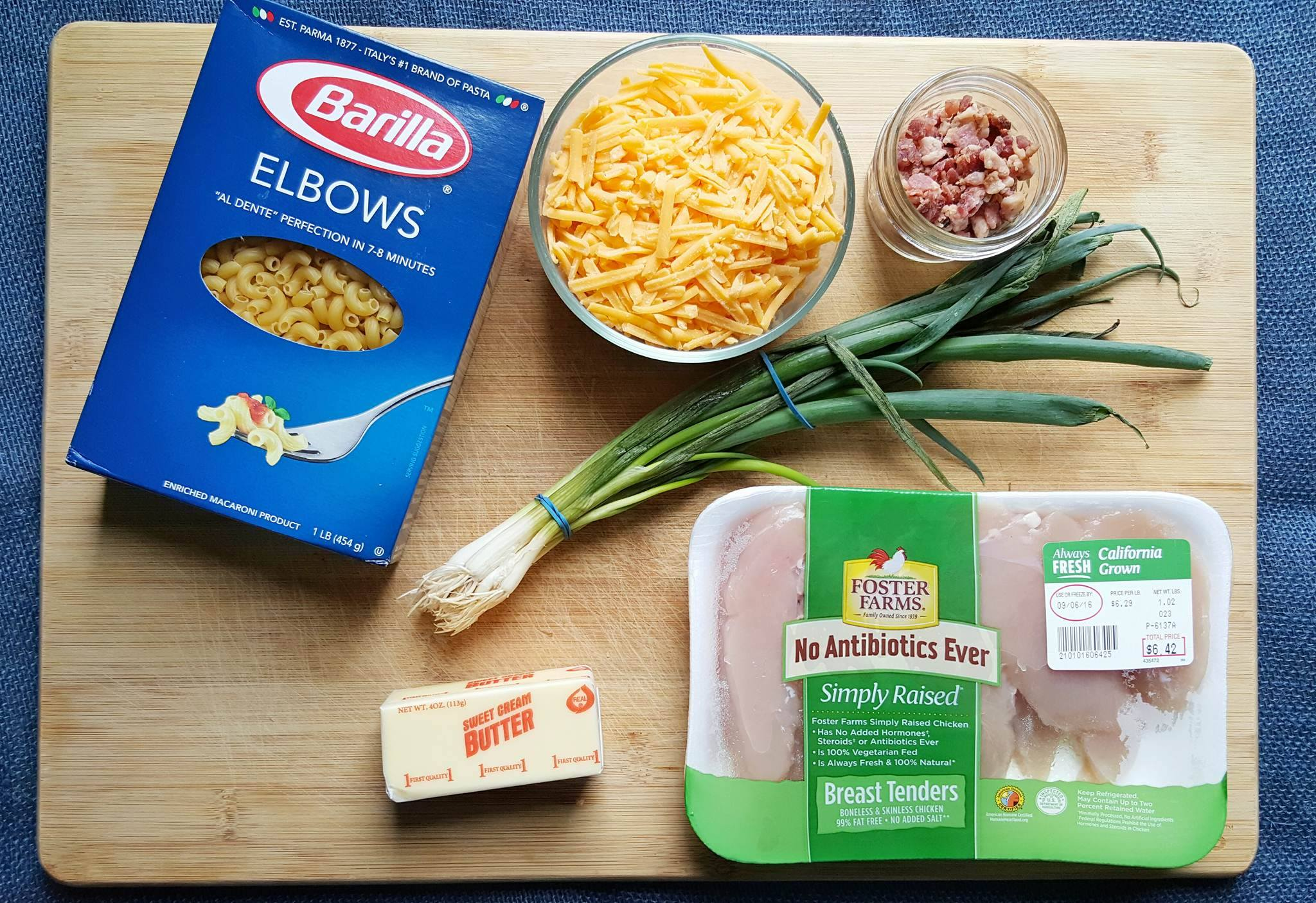 Chicken Bacon Mac and Cheese Recipe
