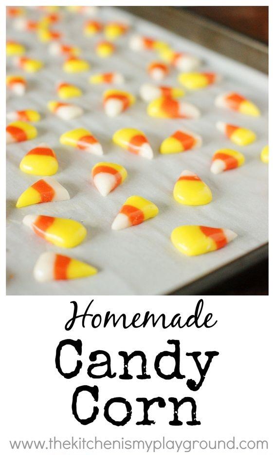 candy corn recipes