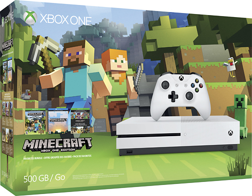 Xbox one s minecraft bundle