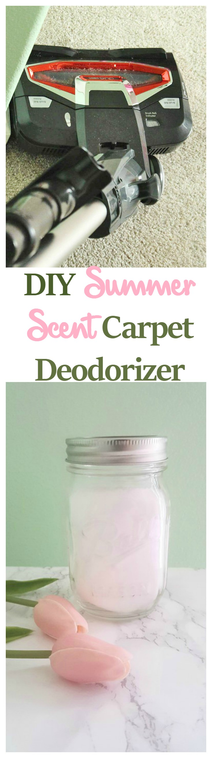 DIY Summer Scent Carpet Deodorizer
