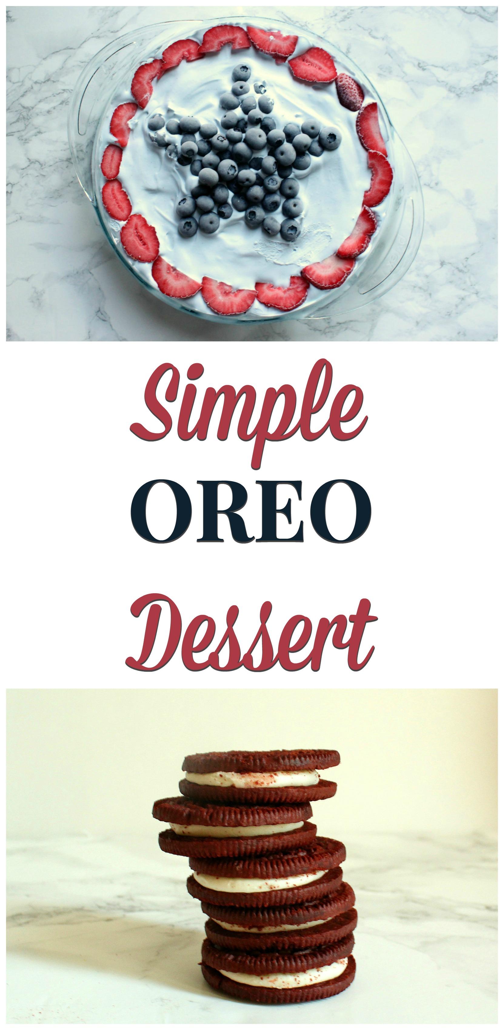simple oreo dessert