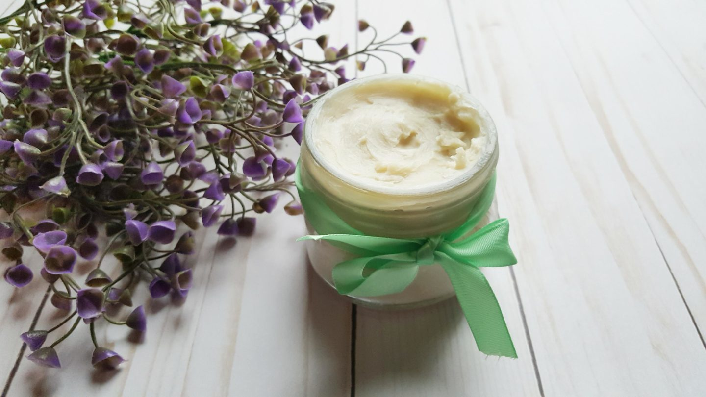 DIY All Natural Body Butter Salve for Dry Winter Skin