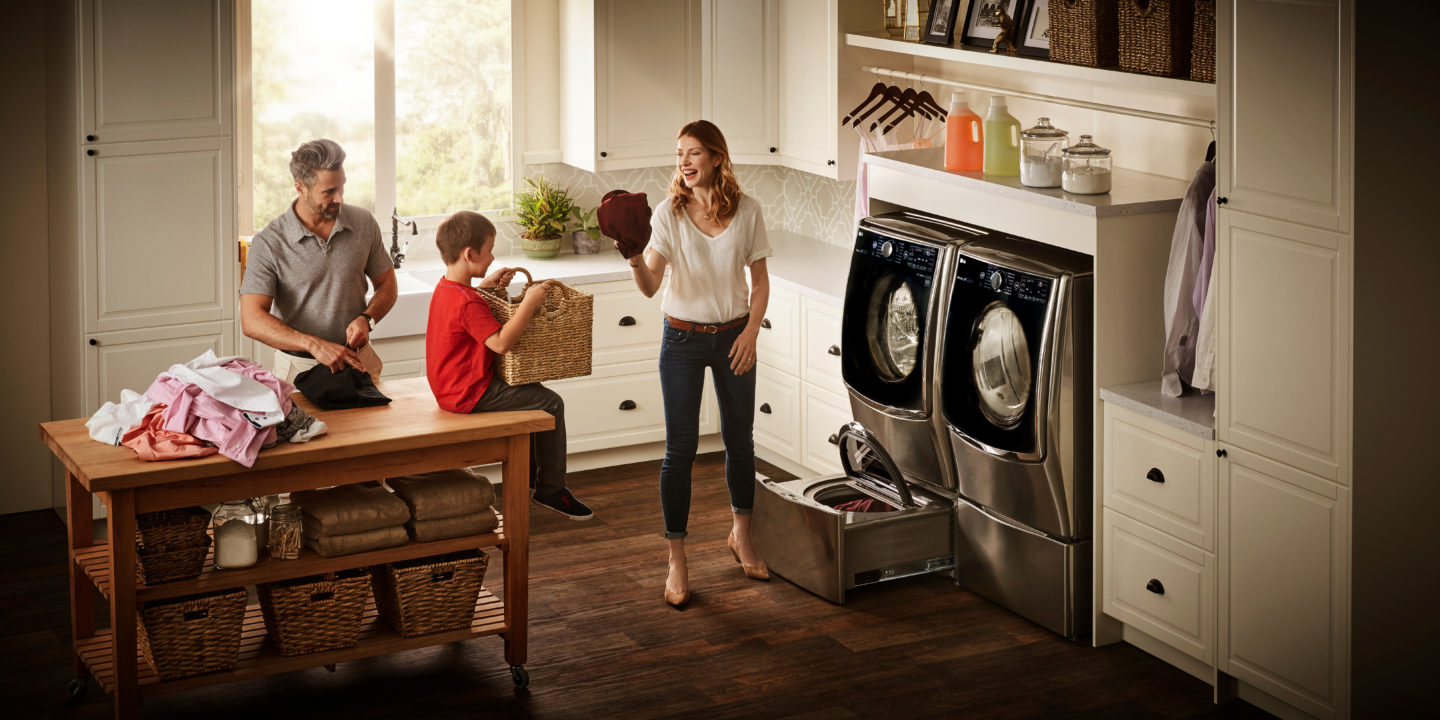 Make Washing Laundry Easier With the LG Twin Wash System