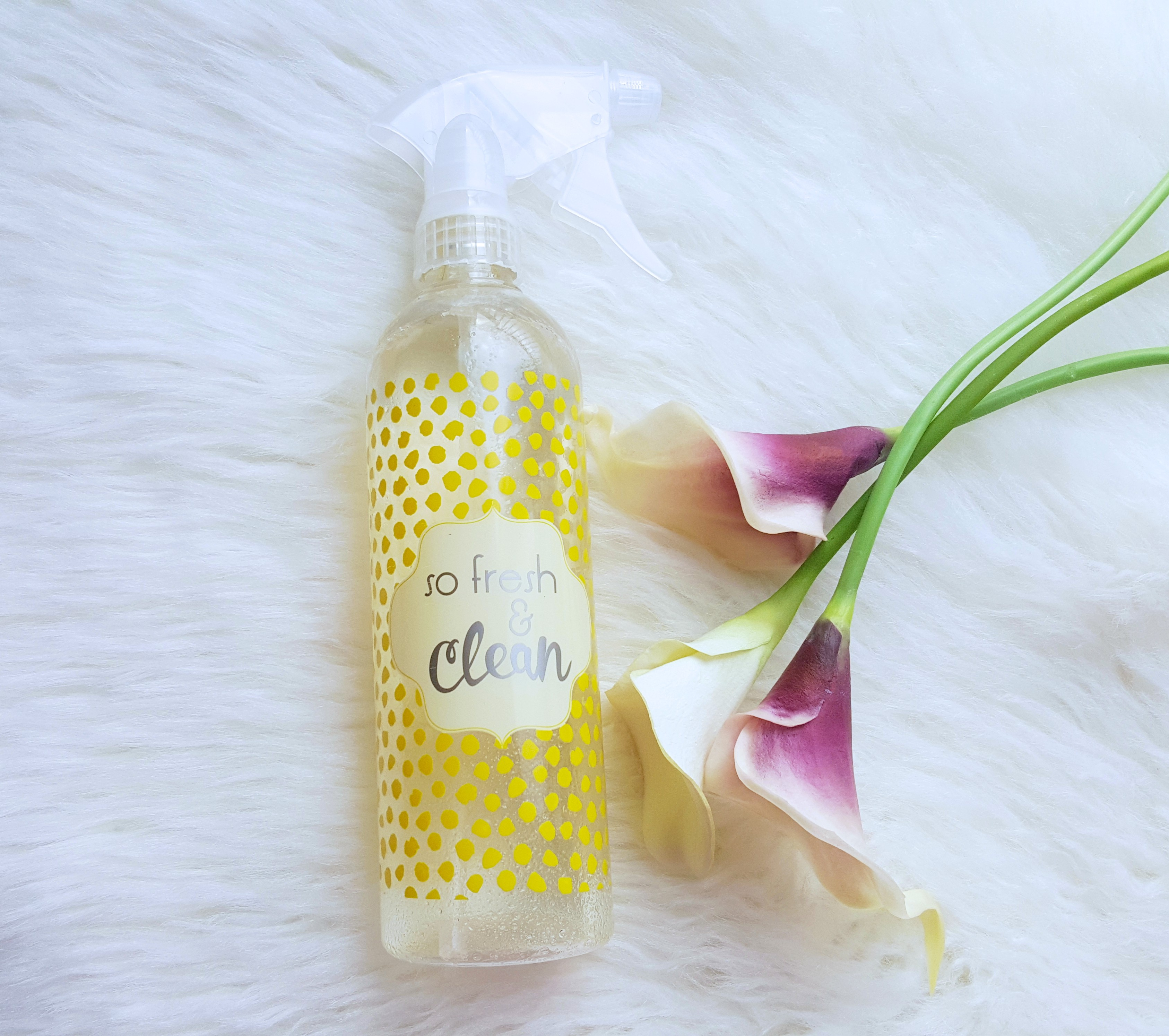 Diy all natural cleaning spray