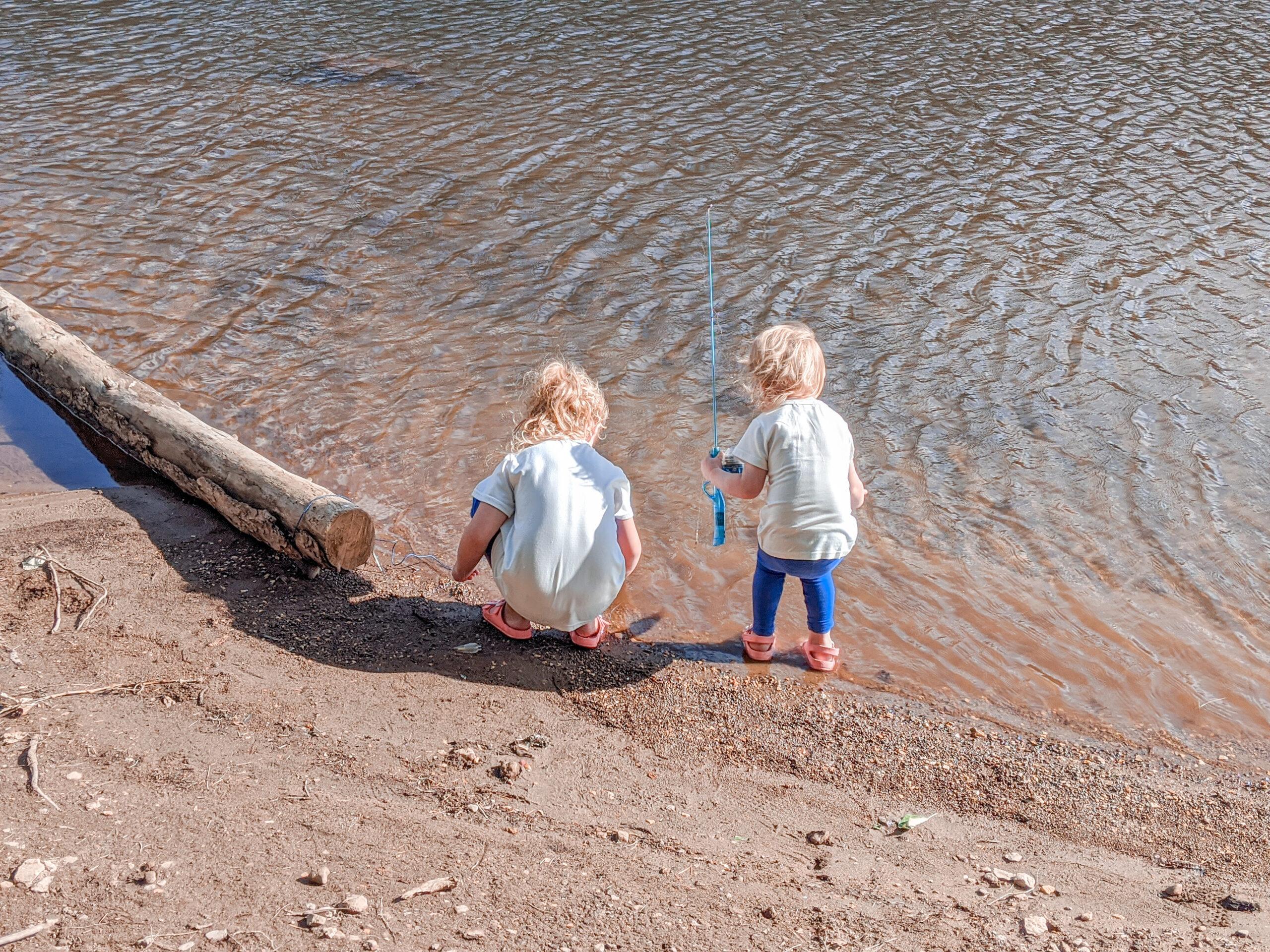 Caught Fish At Goose Lake Wa