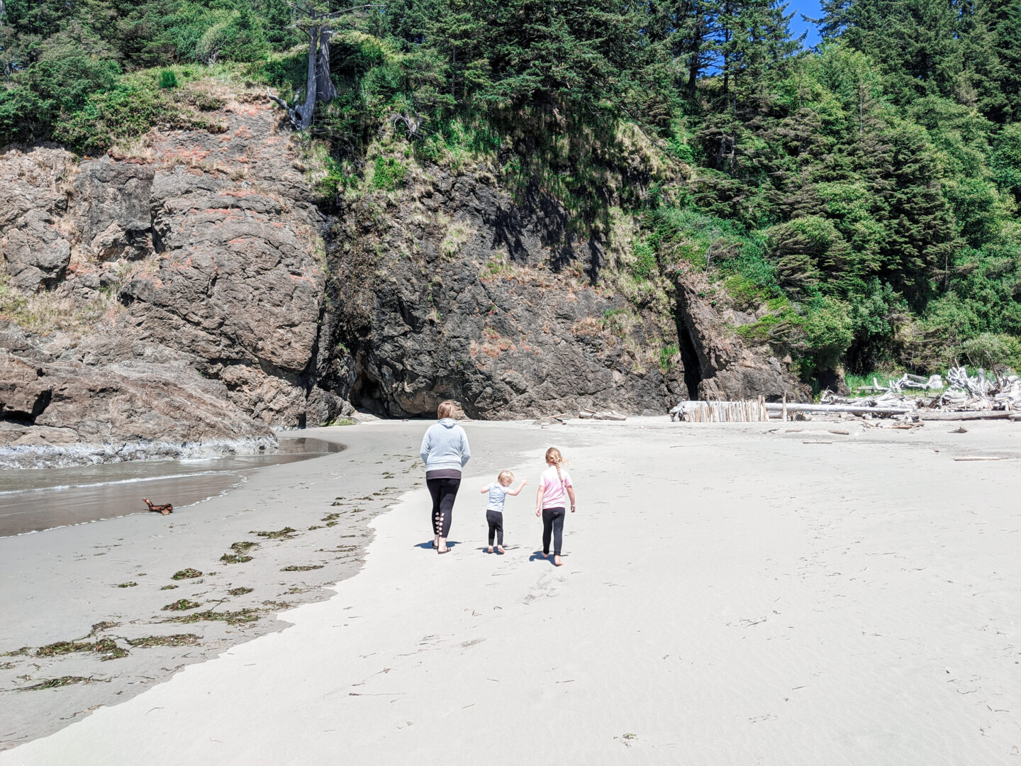 Beach Camping with Kids at Cape Disappointment State Park
